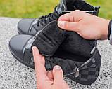 Мужские зимние кроссовки Louis Vuitton, ботинки луи виттон, зимові кросівки Louis Vuitton, черевики луі віттон, фото 4