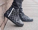 Мужские зимние кроссовки Louis Vuitton, ботинки луи виттон, зимові кросівки Louis Vuitton, черевики луі віттон, фото 6