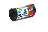 Мешки (пакеты) для мусора полиэтиленовый (мусорный пакет) Top Pack® 120л 25шт/рулон черный