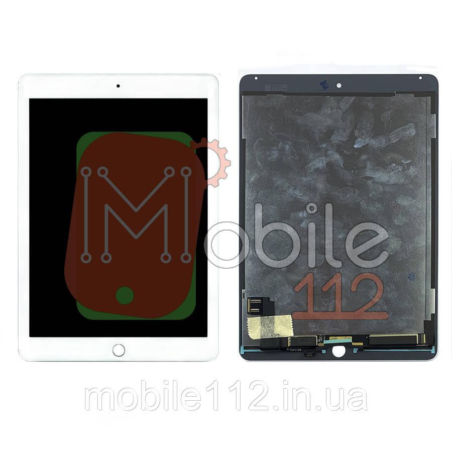 Екран (дисплей) Apple iPad Air 2 A1566 A1567 + тачскрін білий оригінал Китай