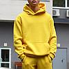 Худи мужское базовое желтое Крейг от бренда ТУР, фото 3