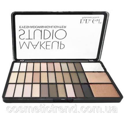 Палетка тіней і хайлайтеров DoDo Girl Make Up Studio Eyeshadow & Highlighter D4047A, фото 2