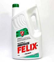 Антифриз зеленый G11 FELIX Prolonger, 5кг, фото 1