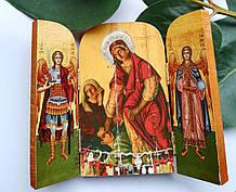 Ікона Пресвятої Богородиці Кассопитры (триптих)