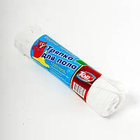 Тряпка, салфетка для мытья пола белая Top Pack® 50/60, фото 1