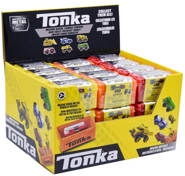 Игрушка Tonka микро АВТОМОБИЛЬ метал. 6 видов