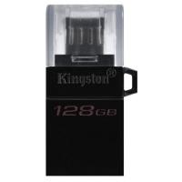 Флеш-драйв KINGSTON DT MicroDuo 3G2 128 GB, OTG, USB 3.0