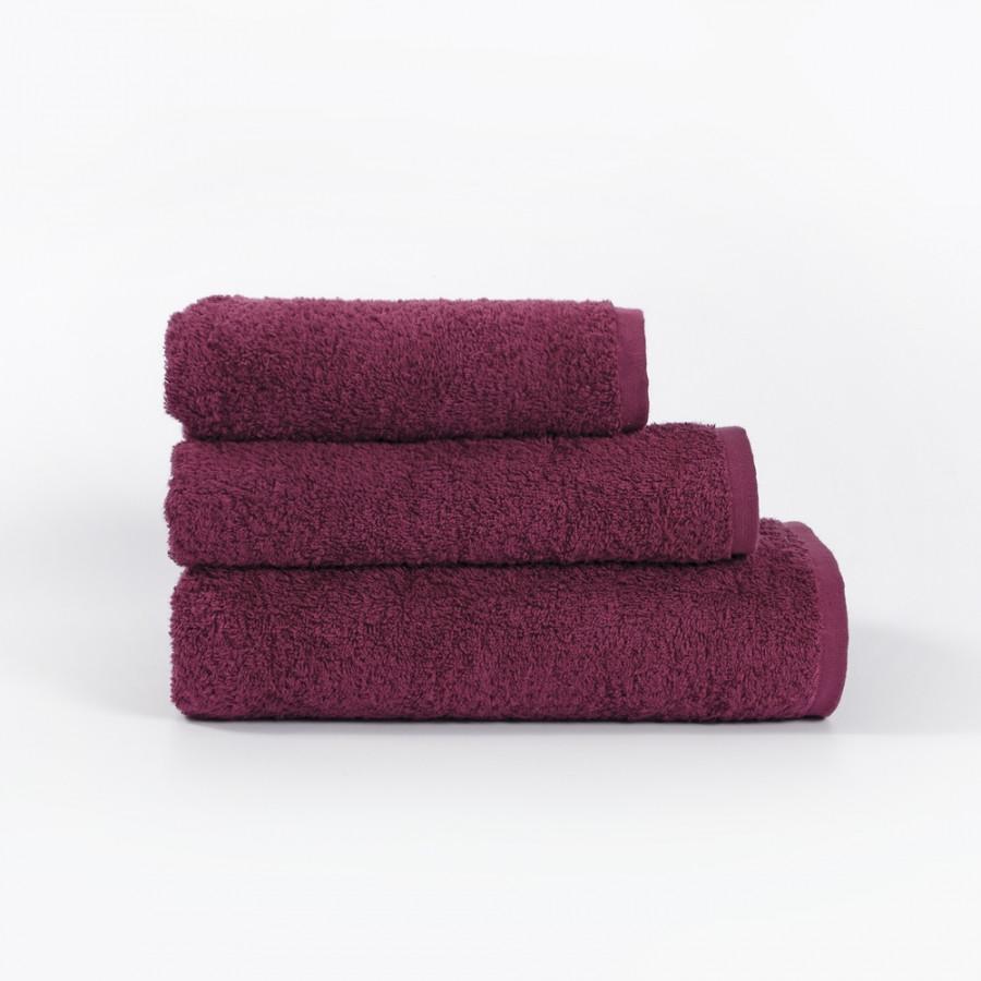Полотенце Iris Home Отель - Beaujolais бордовый 40*70 440 г/м2 оптом