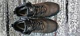 Мужские зимние кожаные кроссовки коричневого цвета. Размеры 40-45., фото 7