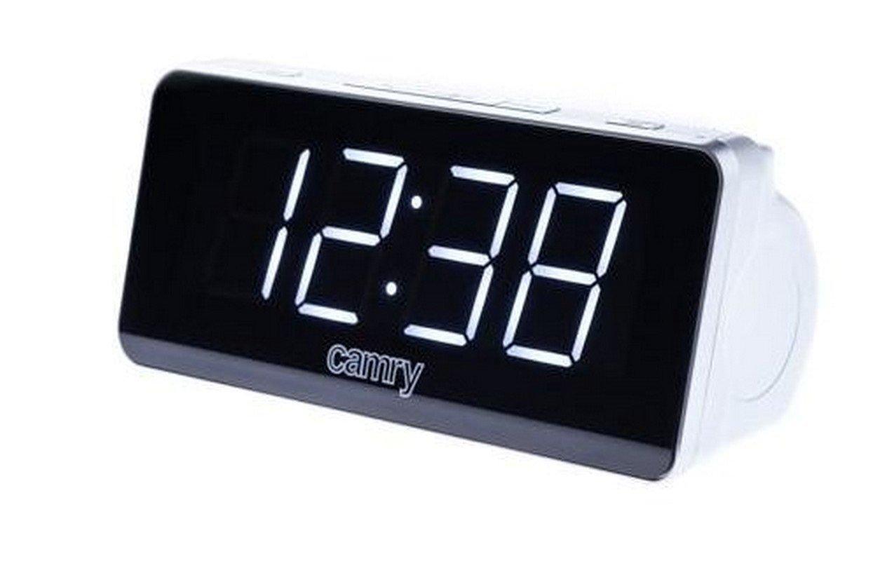 Радіогодинник Camry CR 1156 Сріблястий