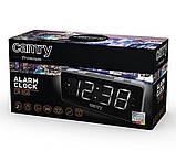 Радіогодинник Camry CR 1156 Сріблястий, фото 5