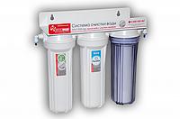 Фильтр питьевой Новая Вода NW-F300-AG (серебро + умягчение)