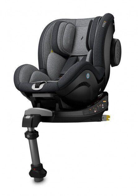 Автокресло для детей до 18 кг FOX2 система Isofix Universe Grey Osann