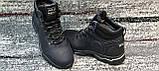 Мужские зимние кожаные ботинки черного цвета. Размеры 40-45., фото 3