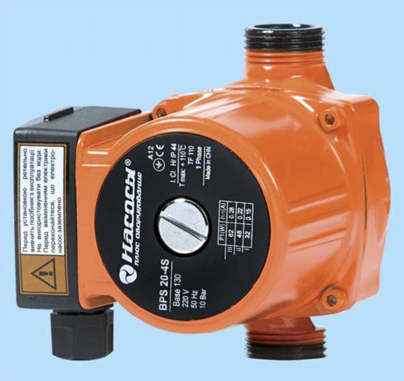 Насосы плюс оборудование BPS 25/4-130 - Циркуляционный насос
