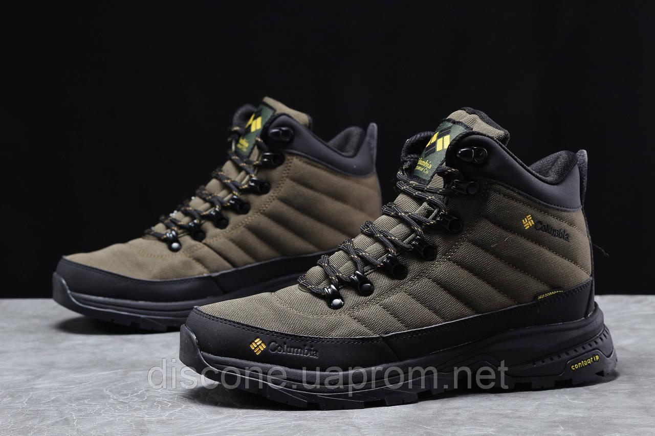 Зимние мужские кроссовки 31773 ► Columbia Contagrip, зеленые ✅Скидка % [ нет в наличии ] ► (41-26,5см)