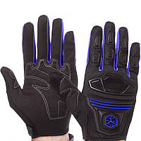 Мотоперчатки текстильные SCOYCO черно-синие MС24 (реплика) L