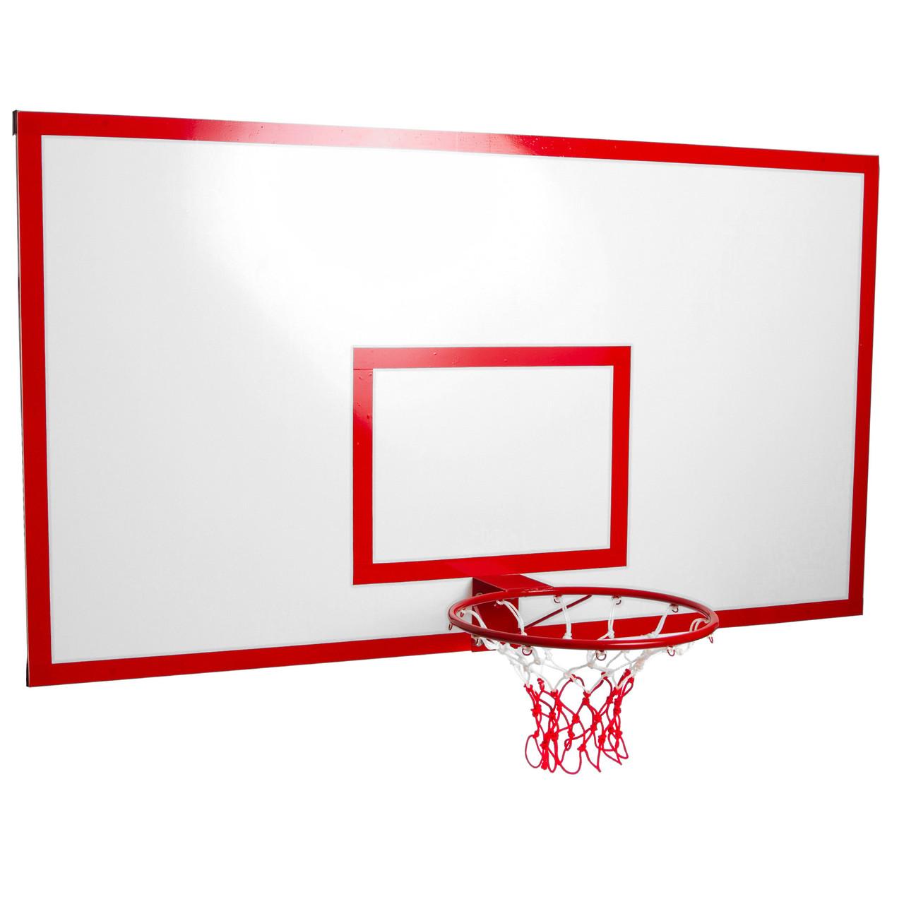 Щит баскетбольный металлический 180x105 см LA-6275