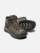 Ботинки KEEN Targhee III Mid WP M Black Olive/Golden Brown, 43