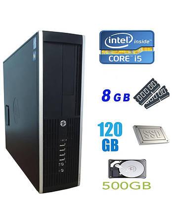 HP Compaq 6300 Pro SFF / Intel Core i5-2400 (4 ядра по 3.1-3.4GHz) / 8 GB DDR3 / 120 GB SSD NEW+500 GB HDD /, фото 2