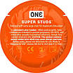 Презервативы ONE Super Studs (точечные) (по 1 шт), фото 4