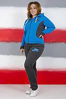 Спортивний костюм жіночий (батал), фото 1