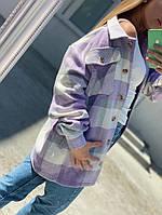 Рубашка в клетку «Кашемир» женская, фото 1