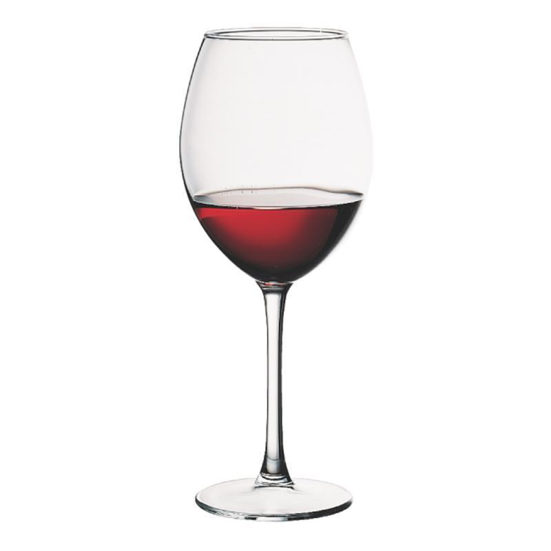 Набор 12 фужеров для вина Enoteca 545мл, стеклянные