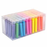 Глиттер декоративные блестки, неоновый 50x5г 6 цветов, для ногтей, 101816