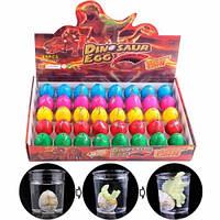 Дино инкубатор 40шт 4.5x3.5см растишка яйцо динозавра растущий динозавр, 101934