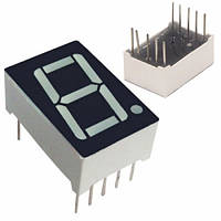 """7-сегментный индикатор 0.56"""" красный 10pin катод Arduino, 100447"""