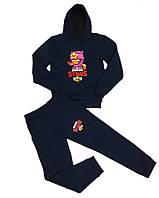Теплый спортивный костюм для мальчика Бравл Старс, 152см