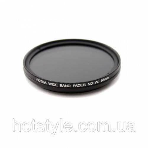ND фильтр переменной плотности ND2-ND400, 58мм, 100689