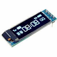 "OLED дисплей графический SSD1306 I2C 0.91"" 128x32 Arduino AVR STM32, 100702"