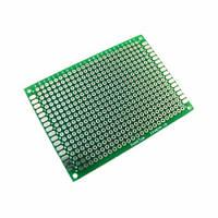 PCB 5x7 см двухсторонняя печатная плата, 100713, фото 1