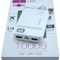 Power Bank Внешний аккумулятор 10000мАч 2xUSB ЖК-дисплей Reddax RDX-250, 100737, фото 1