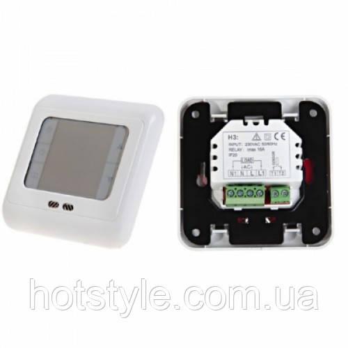 Терморегулятор термостат цифровой для теплого пола 220В 16А Floureon C07 H3, 103995