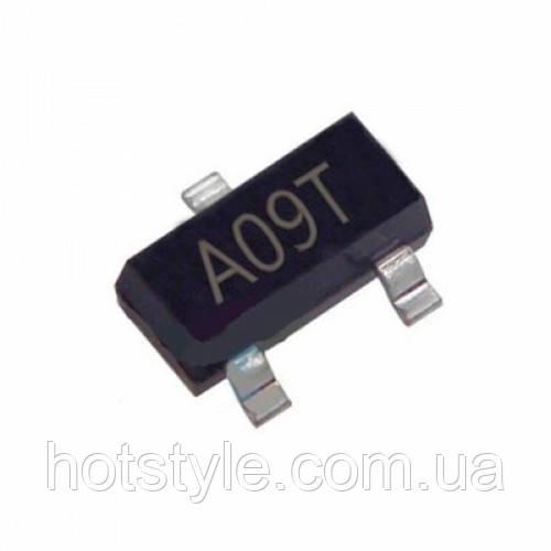 Чип AO3400A AO3400 A09T SOT23, Транзистор MOSFET N-канальный, 104320