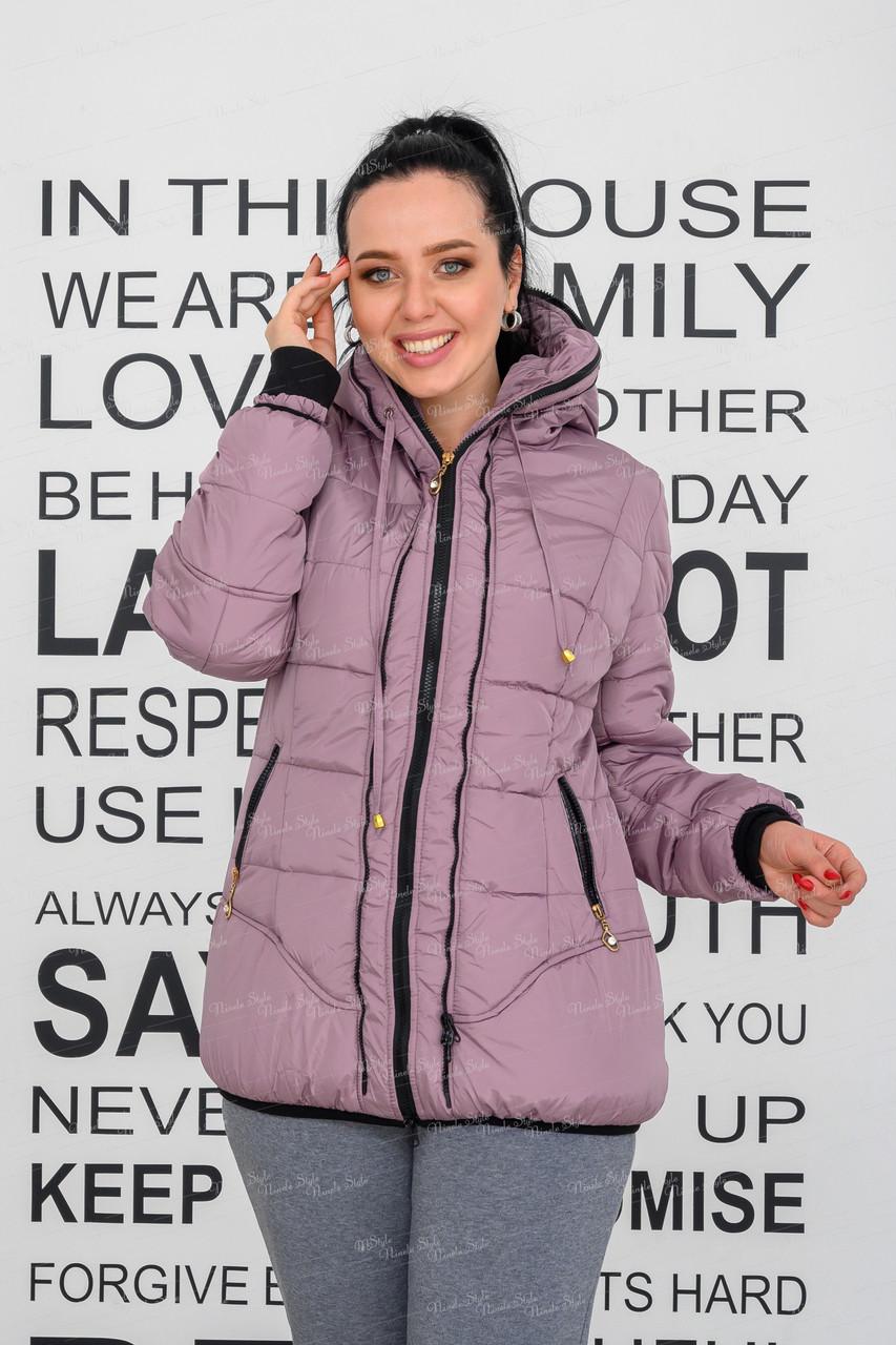 Куртка женская на флисе 482 55