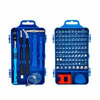 Набор инструментов 110в1 для ремонта электроники, отвертка с 98 битами, 102798, фото 1