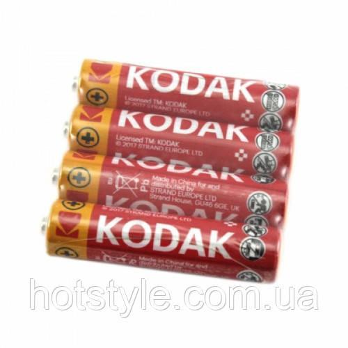 Батарейка AAA LR3 Kodak, солевая, 101204