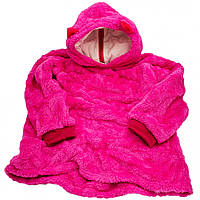 Толстовка с капюшоном худи Huggle Pets трансформер в игрушку Розовый 130 - 152 см (M_TL_HP_008-03)