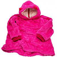 Толстовка з капюшоном худі Huggle Pets трансформер в іграшку Рожевий 130 - 152 см (M_TL_HP_008-03)