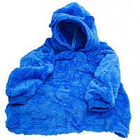 Толстовка с капюшоном худи Huggle Pets трансформер в игрушку Синий 130 - 152 см (M_TL_HP_008-04)