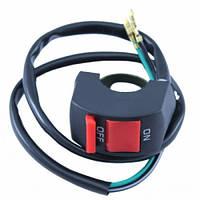 Переключатель кнопка для света фар на руль мотоцикла 22мм, 103074