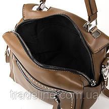 Сумка Женская Классическая иск-кожа FASHION 1-011 53380 khaki, фото 3