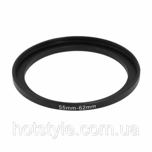 Повышающее степ кольцо 55-62мм для Canon, Nikon, 103224