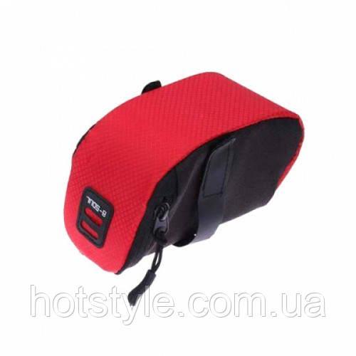 Подседельная сумка, велосумка под седло B-Soul, 103255