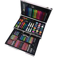 Детский художественный набор для рисования Art Set в чемодане