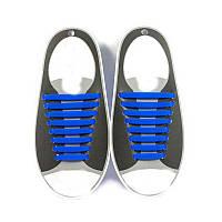 Силиконовые шнурки Triks без завязок Синие (M_А_070419_23-1)